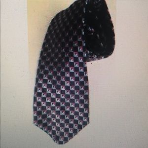 Nordstrom men tie Diamond Black/purple/Blue
